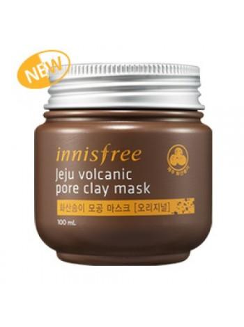 Innisfree Super Volcanic Pore Clay Mask  Очищающая маска для проблемной кожи
