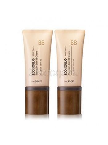 ББ Крем Фарфоровая кожа The Saem Eco Soul Porcelain Skin BB Cream