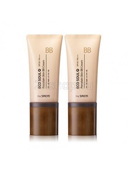 The Saem Eco Soul Porcelain Skin BB Cream ББ Крем Фарфоровая кожа