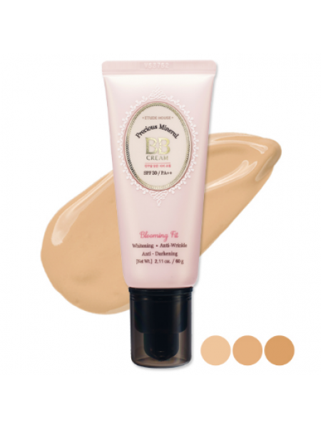 Etude house Precious Mineral BB Cream Blooming Fit SPF30/PA+++  Крем ББ минеральный
