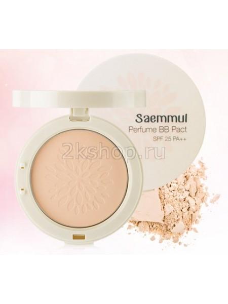 The Saem Sammul Perfume BB Pact SPF25 PA  Компактная ароматизированная ББ пудра