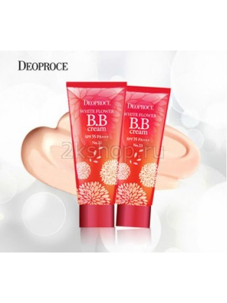 ББ Крем Deoproce White flower bb cream spf35 pa+++