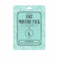 KOCOSTAR Foot Moisture Pack Mint  Мятная увлажняющая маска для ног