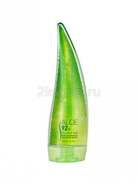 Holika Holika Aloe 92% Shower Gel Гель для душа с 92% содержанием экстракта сока алоэ вера
