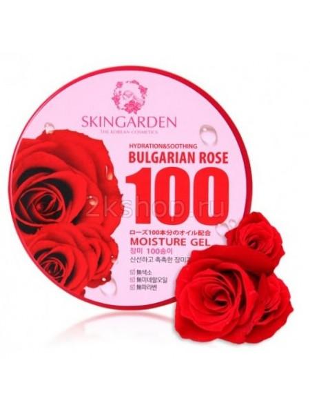 Berrisom Skingarden BULGARIAN ROSE 100 Moisture Gel  Универсальный гель с экстрактом болгарской розы