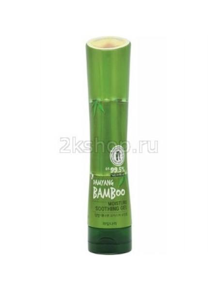 Kwailnara Damyang bamboo moisture soothing gel Увлажняющий успокаивающий гель для тела с экстрактом бамбука