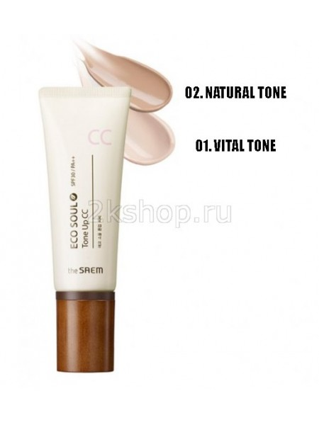 The Saem Eco Soul Tone Up CC СС Крем