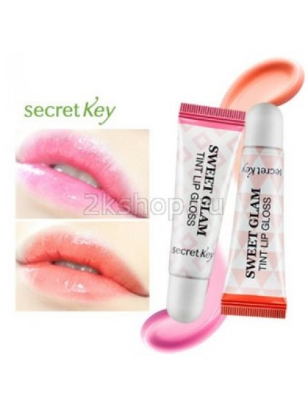 Secret Key sweet glam tint lip gloss Тинт для губ