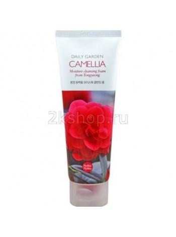 Holika Holika Daily Garden Tongyeong Camelia Moisture Cleansing Foam Очищающая пенка , Камелия