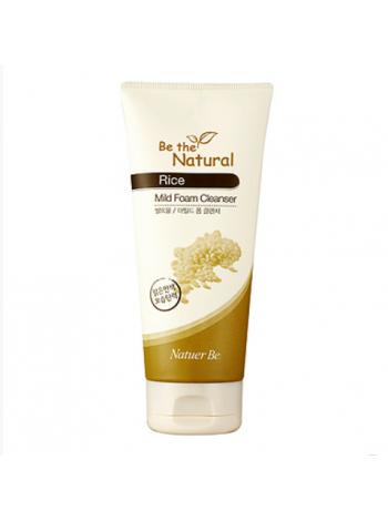 ENPRANI Natuer Be Rice Mild Foam Cleanser Пенка для умывания c экстрактом риса