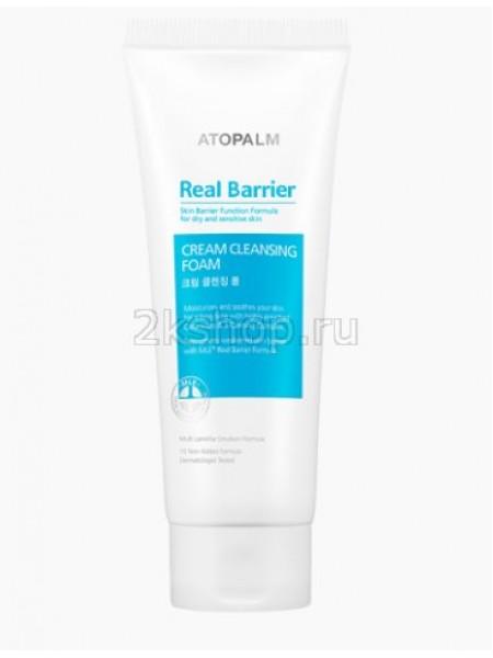 Atopalm Real Barrier Real Barrier cream cleansing foam Кремовая очищающая пенка