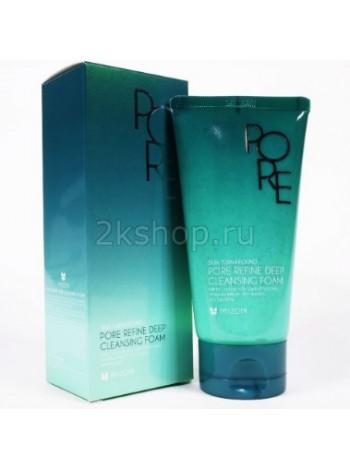 Mizon pore refine deep cleansing foam  Пенка очищающая  для кожи с расширенными  порами