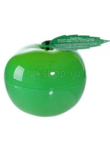 Tony Moly Appletox Smooth Massage Peeling CREAM  Пилинг-скатка для лица, зелёное яблоко