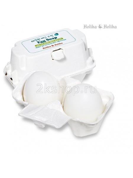 Holika Holika Egg Soap(50G*2) Мыло-маска ручной работы для сужения о очистки пор c яичным белком (50g *2)