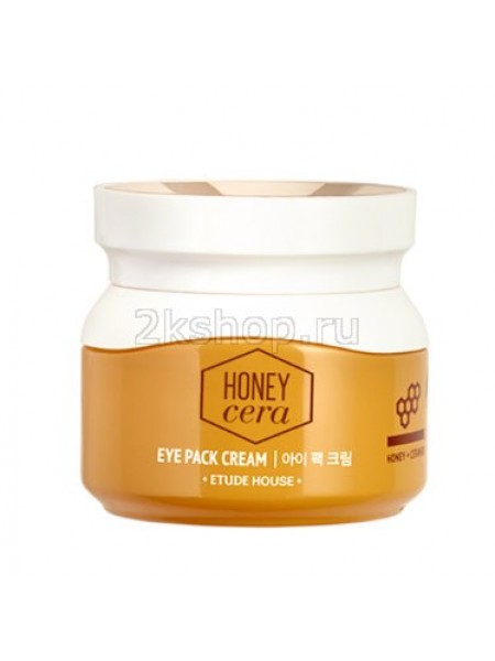 Крем-маска для век с экстрактом меда Etude house Honey Cera Eye Pack Cream
