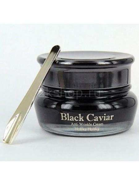 Holika Holika Black Caviar Antiwrinkle Cream  Питательный лифтинг крем Черная икра