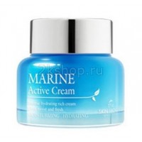 Крем для лица с морскими водорослями The Skin House Marine Active cream