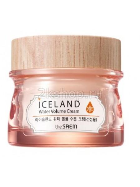 The Saem Iceland Hydrating Water Volume Cream  Увлажняющий крем  для сухой  кожи