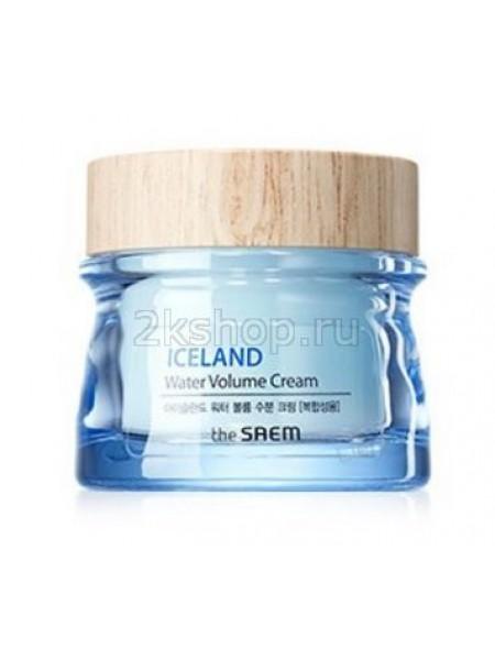 The Saem Iceland Hydrating Water Volume Cream  Увлажняющий крем  для комбинированной кожи