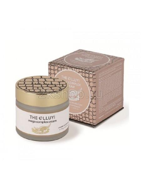 The Elluyi Mega Complex Cream (crocodile oil) whitening and wrinkle care Комплексный крем с маслом крокодила