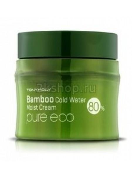 Tony Moly Pure Eco Bamboo Icy Water Moisture Cream  Bamboo Крем увлажняющий с экстрактом бамбука