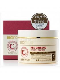 Biomax Red Ginseng Youth Cream Омолаживающий крем с экстрактом красного женьшеня