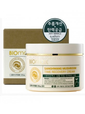 Biomax Крем с грибом санхван Sanghwang Muschroom Time Recovery Cream