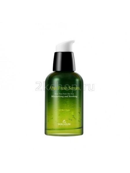 The Skin House Aloe fresh serum Увлажняющая и успокаивающая сыворотка с экстрактом алоэ