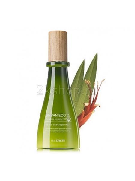 The Saem Urban Eco Harakeke Emulsion EX Эмульсия питательная с экстрактом новозеландского льна