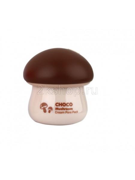 Tony Moly Magic Food Choco Mushroom Cream Pore Pack Шоколадная маска для сужения пор