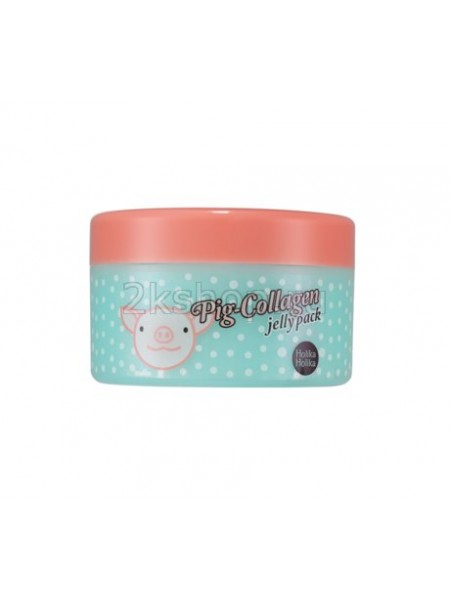 "Holika Holika Pig-Collagen jelly pack  Ночная маска для лица ""Пиг-коллаген джелли пэк"""