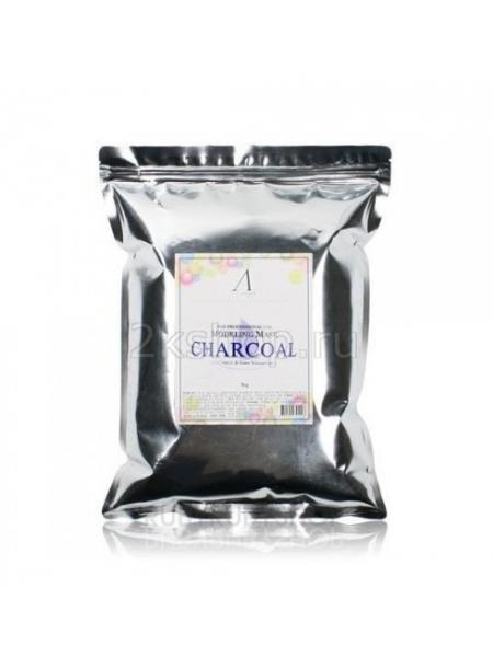 Anskin Charcoal Modeling Mask (Size)  Маска альгинатная для жирной кожи с расширенными порами
