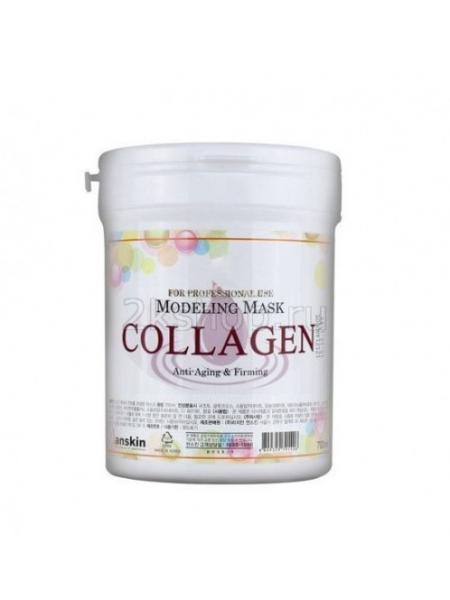 Anskin Collagen Modeling Mask  Маска альгинатная с коллагеном укрепляющая