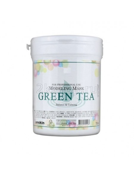Anskin Grean Tea Modeling Mask  Маска альгинатная с экстрактом зеленого чая
