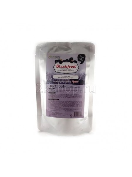 Inoface Альгинатная маска с древесным углем Blackfood Modeling Mask 200g