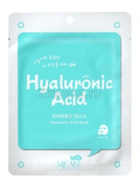 Тканевая маска с гиалуроновой кислотой Mijin Hyaluronic Acid mask pack