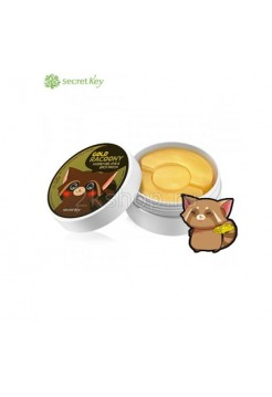 Secret Key Gold Racoony Hydrogel Eye & Spot Patch Патчи для глаз с золотом