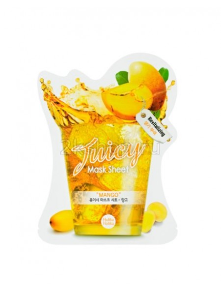 "Holika Holika Juicy Mask Sheet Mango Тканевая маска для лица ""Джуси Маск"" Сок манго"