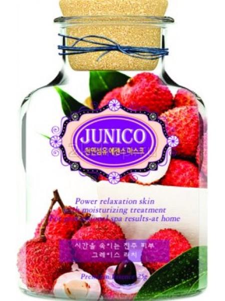 Mijin Junico Lychee Essence Mask Маска тканевая c экстрактом личи