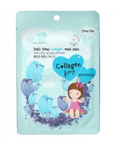 Mijin MJ Care Daily Dewy Сollagen Mask Pack Маска тканевая с коллагеном