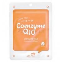 Mijin Coenzyme Q10 mask pack  Маска тканевая с коэнзимом