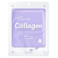Mijin Collagen mask pack Тканевая маска с коллагеном