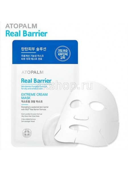 Atopalm Real Barrier Extreme Cream Mask/ Real Barrier маска с защитным кремом для лица