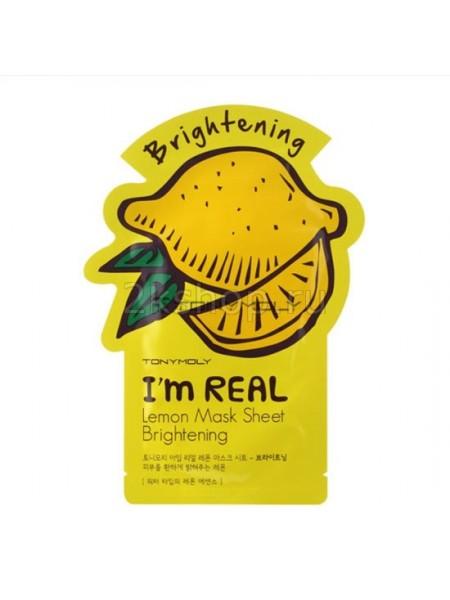 Tony Moly I'm Real Mask Sheet Tony Moly I'm Real Маска для лица тканевая с лимоном