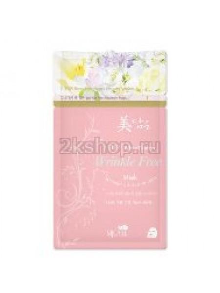 Mijin 2 Step white flower Anti-wrinkle mask  Тканевая маска 2-х шаговая антивозрастная