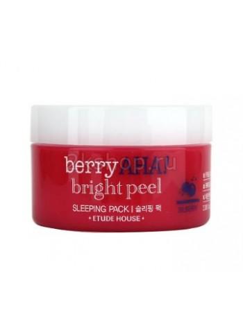 Ночная маска отшелушивающая  с кислотами Etude house Berry Aha Bright Peel Sleeping Pack