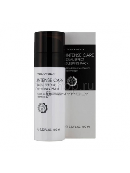 Tony Moly intense care dual effect sleeping pack Маска для лица ночная c двойным  эффектом