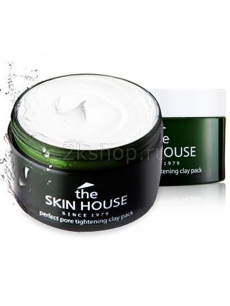 THE SKIN HOUSE Perfect pore tightening clay pack  Зеленая глиняная маска для сужения пор