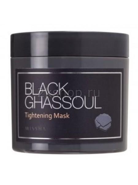 Missha black ghassoul tightening mask  Маска минеральная для сужения пор