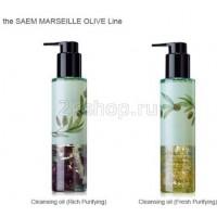 The Saem Olive Гидрофильное масло с оливой Marseille olive Cleansing Oil
